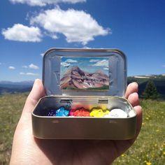 225 отметок «Нравится», 12 комментариев — Heidi Annalise (@heidi.annalise.art) в Instagram: «Engineer Mountain, as seen from the Colorado Trail. #exploringcolorado #Colorado #coloradogram…»