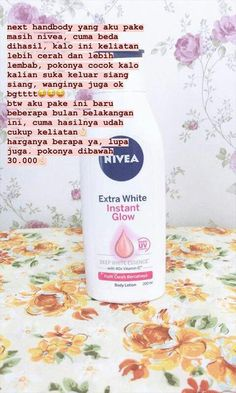 Hand and Body Lotion dari Nivea ;) - - Hand and Body Lotion dari Nivea 😉 All About of SkinCare Hand- und Körperlotion dari Nivea; Beauty Care, Beauty Skin, Health And Beauty, Beauty Hacks, Beauty Tips For Face, Face Tips, Face Skin Care, Body Lotion, Nivea Lotion