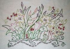 Hand Embroidery Patterns | Hand Embroidery patterns to use to make your own table runners, quilts ...