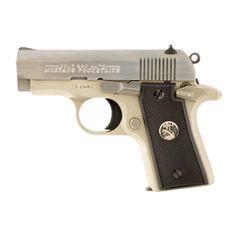 Gorgeous Hardwood Grip For Colt Mustang .380 Pocketlite Diamond checkered