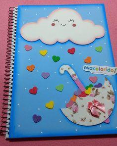 Amo fazer este caderno!! #chuvadeamor #chuvadebencao #feitopormim #feitoamao #feitocomamor #cute #love #AnaPaulaMerigo