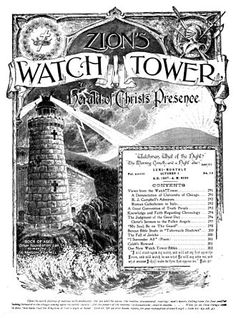 July 1, 1879: First issue of Watchtower Magazine printed. It was then called…