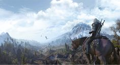 The witcher 3. Games have beautiful scenery
