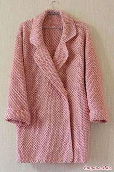 26 New Ideas Crochet Sweater Jacket Pattern Winter Crochet Coat, Crochet Cardigan Pattern, Chunky Knit Cardigan, Crochet Jacket, Knitted Coat, Crochet Clothes, Cardigans Crochet, Crochet Patterns, Jacket Pattern