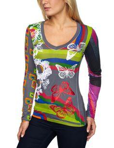 Desigual Damen Shirt/ Langarmshirt 17T2661, Gr. 40 (L), Grau (2020): Amazon.de: Bekleidung Colourful Outfits, Tunics, Knit Crochet, Topshop, Boutique, Knitting, Sweatshirts, Womens Fashion, Casual