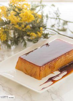 Spanish Desserts, Mini Desserts, Flan, Food N, Food And Drink, Magimix Cook, Thermomix Desserts, Sin Gluten, Yummy Treats