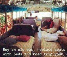 Inspiring image bus, country, friends, hippie, indie, quote, traveling, van…