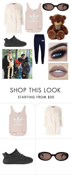 """""""Taking a Funny Instagram photo with Simon and Chip"""" by mini-cutie ❤ liked on Polyvore featuring adidas, Zadig & Voltaire and Gucci"""