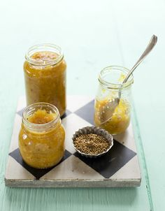 Orange Chutney A Moveable Feast, Pickle Relish, Preserves, Mustard, Delish, Favorite Recipes, Chutneys, Dessert, Marmalade