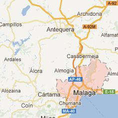 Malaga, Spain - Google Maps