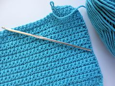 Can someone please teach me how to crochet again?  I love these dishcloths and would like to learn to make them myself.
