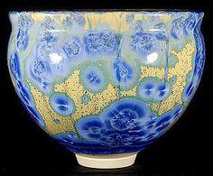William Melstrom Studio Art Pottery Bowl Crystalline