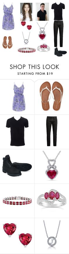 """""""Carmen Lahey and Jackson Whittmore"""" by milkshake22-1 ❤ liked on Polyvore featuring beauty, Joie, Aéropostale, MasterCraft Union, Timberland, Miadora, Kevin Jewelers and BERRICLE"""