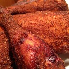 Best Memphis BBQ Dry Rub Recipe - Southern Style Dry Rub for Pork or Chicken Recipe - Grilling Recipes, Meat Recipes, Chicken Recipes, Cooking Recipes, Smoker Recipes, Spinach Recipes, Cooking Tips, Chicken Marinades, Recipes