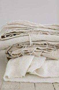 How To Bleach a Drop Cloth - Tidbits