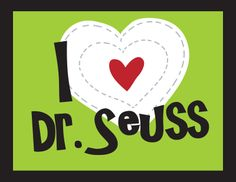 How to: I Heart Dr. Seuss T-Shirt with Free Printable