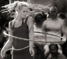 Love this movement and energy of this photo --- #dreadlocks #hooping