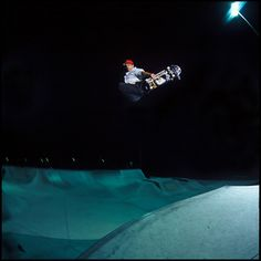 John Cardiel is the definition of that if you're not going to put you're all into it than what's the damn point. This picture shows that there is no such thing as going too big. Why one up someone when you can air over them. If your going to put in an effort just do it as big as you can.