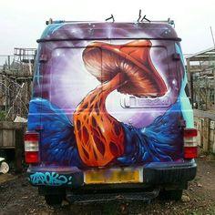 Dr Zadok, London, 2017, street art mobile