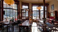Lekker tafelen na een dagje Antwerpen bij Mampoko