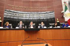 Inician en el Senado audiencias públicas en materia de seguridad y justicia
