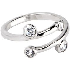 Sterling Silver 925 Cubic Zirconia SPIRAL Toe Ring #bodycandy #toering #beach $16.99