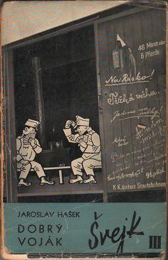 John Heartfield - Cover for Dobrý voják Švejk (The Good Soldier Švejk), Volume III, 1936