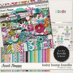 Baby Bump BUNDLE by Digilicious Design