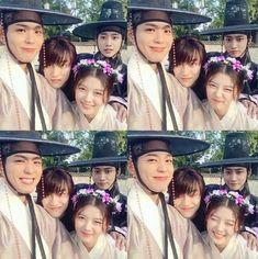 Kim Yoo Jung, Park Bo-gum, Kwak Dong-yeon and Jung Jin-young Korean Actresses, Asian Actors, Korean Actors, Actors & Actresses, Korean Dramas, Park Bo Gum Moonlight, Moonlight Drawn By Clouds, Jin Young Moonlight, Love In The Moonlight Jinyoung