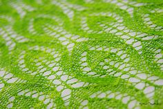 Beautiful Spring Leaves pattern free on Ravelry