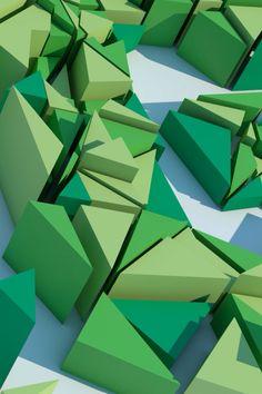 3D Gaia - #ilustración #logo #typo
