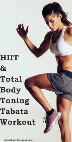 HIIT & Total body Toning Tabata Workout