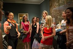 The Fine Art of the Museum Bachelorette Party - WSJ
