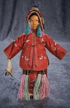 Chinese Wooden Door of Hope Modern Bride with Alternate Costume and Unique Coiffure 2000/3000 Auctions Online | Proxibid