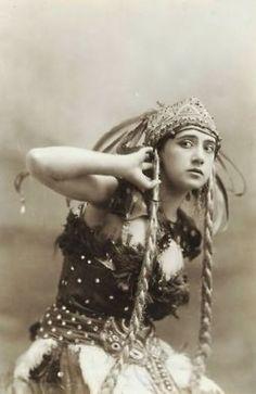 Tamara Krasavina in her Firebird costume