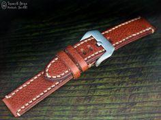 Curele de ceas, din piele, handmade. Topouzelli Straps.: Curea de ceas handmade, T 887