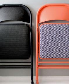DIY: folding chairs