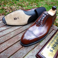 Ascot Shoes — A few angles of the Vass F last to admire, made...