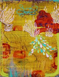 I would love this print made of raw silk on a decorative pillow