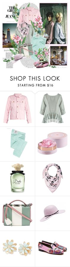 """"""",,It's gonna be you..."""""""" by purplecherryblossom ❤ liked on Polyvore featuring Bliss and Mischief, byblos, Lancôme, TOUS, Dolce&Gabbana, BCBGeneration, Mark Cross and Penelope Chilvers"""