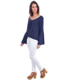 Blusa Azul Marinho - cea