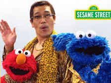 'Pen-Pineapple-Apple-Pen' guy teams up with Elmo and Cookie Monster