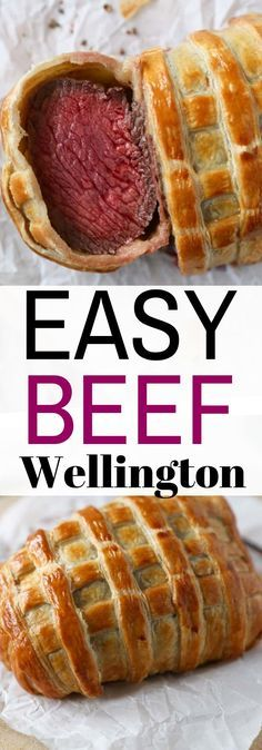 Easy Beef Wellington – Net Feed Daily Source by xojoline Easy Beef Wellington, Wellington Food, Beef Wellington Recipe, Beef Welington, Slow Cooker Beef, Roast Beef, Meat Recipes, Cooking Recipes, Steak