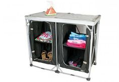 Kampa Leigh Compact Cupboard Double | UK | World of Camping