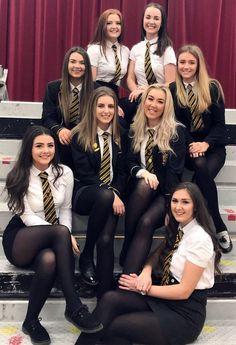 Tight Skirts Page: Uniform Tight Skirts 4 School Uniform Outfits, Cute School Uniforms, Girls Uniforms, Girls In School Uniform, Girls School, Catholic School Uniforms, Catholic School Girl, School School, British School Uniform