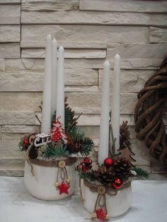Handmade Christmas Decorations, Diy Christmas Gifts, Xmas Decorations, Christmas Projects, Christmas Holidays, Christmas Wreaths, Christmas Arrangements, Christmas Centerpieces, Small Centerpieces