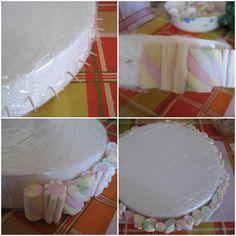 Torta di caramelle per una festa di compleanno! Adattissima per una festicciola di bimbi o, come in questo caso, anche se i...