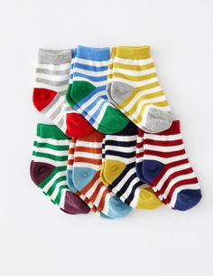 I've spotted this @BodenClothing 7 Pack Sock Box Stripe How can you go wrong with stylish stripes!