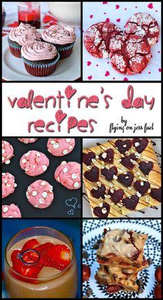 Fun and festive Valentine's Day Recipes! www.jessfuel.com