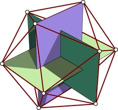 Icosahedron with Golden Rectangles